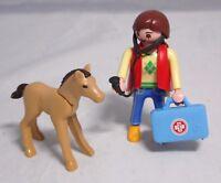 PLAYMOBIL aus 5820 Frau Tierärztin Stethoskop Koffer Pferde-Fohlen  #1