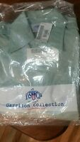 US MILITARY SURPLUS GARRISON L/S GREEN SHIRT**151/2 X 32/33**NEW !!