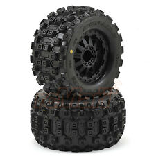 Pro-Line Badlands MX28 2.8 Inch Tires w/F-11 Nitro Rear Wheels RC Cars #10125-14
