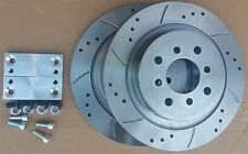280mm D&G REAR Big Brake Kit for ALL MGF & MG TF ideal for cars with 304mm front