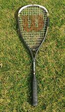 Wilson Hyper Hammer Carbon Fiber 145 Lightweight Performance Squash Racquet $160