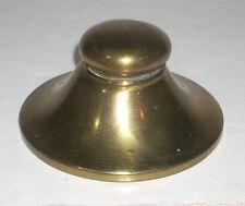 Antique Brass Flip Top  Inkwell