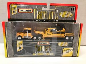 1996 MATCHBOX PREMIERE COLLECTION SERIES 1 PETERBILT CONVENTIONAL TRUCK SEALED
