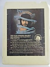 VTG 1977 Alan Parsons Project Tales Of Mystery & Imagination 8 Track Tape TESTED