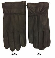 WHOLESALE LOT 12 PCS Genuine Leather Thinsulate Insulation Winter Men's Gloves