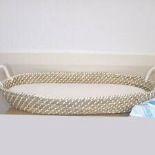 Baby Changing Basket - All Natural Hand Made - Seagrass - Fairtrade Sustainable