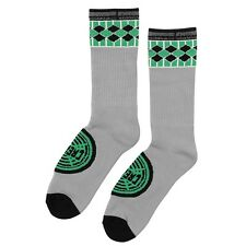 Creature Winchester Tall Crew Skateboard Socks 2 Pack Grey