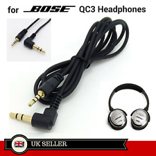 Replacement 2.5 to 3.5 mm Cable Cord for BOSE Quiet Comfort 3 QC3 Headphones