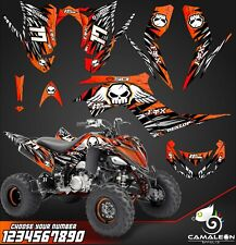 Yamaha Raptor 700R graphics kit 2013 2019 decals stickers kit atv