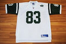 NEW YORK JETS AMERICAN FOOTBALL SHIRT JERSEY №83 MOSS REEBOK XL VINTAGE NFL
