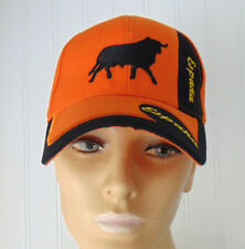 Orange Espana Spain Baseball Cap Hat Adjustable Bull Excellent