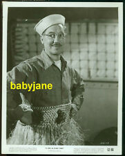 GROUCHO MARX VINTAGE 8X10 PHOTO 1952 SAILOR CAP & HULA SKIRT GIRL IN EVERY PORT