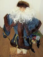 "Jana Southwick Father Time Santa 20"" Figurine, #13/20 Very Rare & signed 2000 Ed"