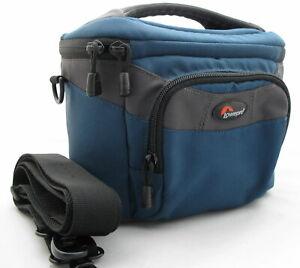 LOWEPRO CIRRUS 120 BLUE DIGITAL BRIDGE CAMERA/SLR BAG/CASE FOR NIKON SONY ETC