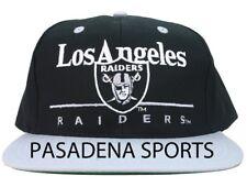 """VINTAGE 1987 """"EASTPORT"""" LOS ANGELES RAIDERS SNAPBACK CAP NWHT EazyE Dre Cube NWA"""