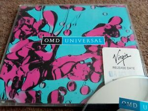 OMD - Universal / Messages (Live) (1996) CD Single