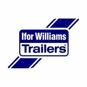 x1 Ifor Williams Trailer Decals Stickers - 295mm x 210mm A4 Approx