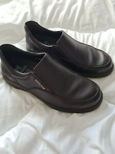 MEPHISTO Air-Jet UK 6.5 Shock Absorbing Hydro Protect Brown Slip On Shoes. NEW