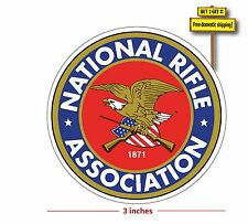 NRA Decal/Sticker National Rifle Association Gun Ruger MEMBER Gun DECAL p25