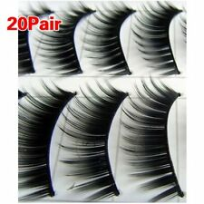 20 Pairs Black Thick Natural Long Makeup False Fake Eyelash Eye Lashes #149