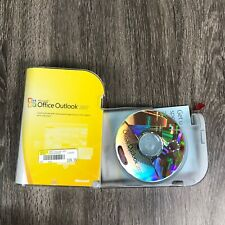 Microsoft Office Outlook 2007 Original Case Windows XP Open Product Key Included