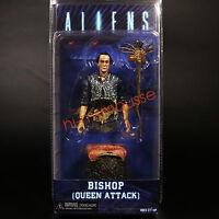 Neca Aliens Figure Bishop Queen Attack Alien PVC