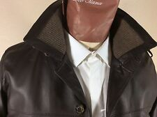 LORO PIANA $5995. Cashmere-lined Lambskin Leather Maremma Jacket--New with Tags