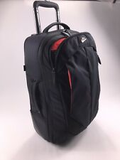 Nike Luggage Roller Suitcase Black Travel Bag Wheel Rolling Sport Bag