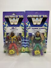 WWE Masters Of The Universe Mr T And Jake The Snake