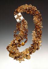 Sale -Bess Heitner Opulent Midas Collar Torsade (Only 2 Left)