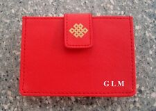 Feng Shui = Red Mystic Knot Credit Card Holder