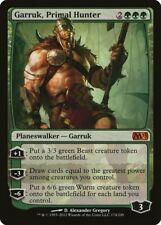 Garruk, Primal Hunter Magic 2013 / M13 NM Green Mythic Rare MTG CARD ABUGames