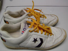 Converse all-stars vintage leather Lakers sneakers size 11