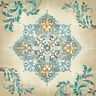 "French Winter Artistic Tile Mural Decorative Ceramic Backsplash 24""x24"" Custom"