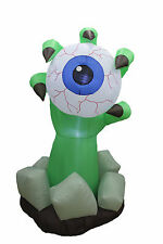 Halloween Air Blown Inflatable Yard Party Blowup Decoration Monster Hand Eyeball
