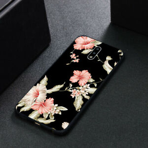 Nokia 2.3/5.3/8.3/5.4/5.1/6.1/7 Plus Case Soft Cover Blooming Flower Shockproof