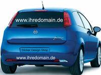 Domain Aufkleber Autobeschriftung Wunschtext Auto Heckscheibe Domainaufkleber