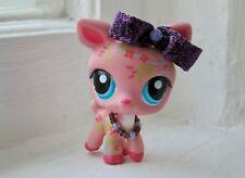 Purple Sparkle Necklace Collar & Bow Accessories Set LPS Littlest Pet Shop 28
