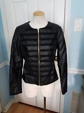 2b bebe faux leather jacket m. #987