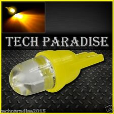 2x Ampoule T10 / W5W / W3W LED Bulb Jaune Amber Yellow veilleuse lampe light