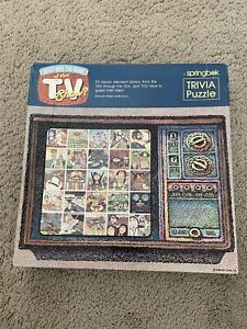 Springbok What was the Name of that TV Show? Vintage 500 Piece Puzzle Bob Martin