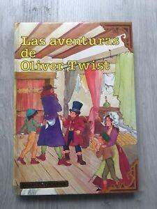 Las aventuras de Oliver Twist de Charles Dickens tapas duras edicion 1984