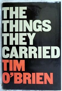 The Things They Carried by Tim O'Brien 1st edition1st printing HC w/ Dustjacket