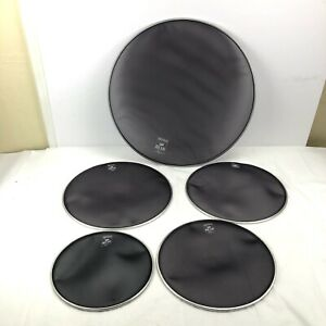 """Pearl Mesh Muffle Heads Drums 10"""" 12"""" 13"""" 14"""" & 20"""" Set"""
