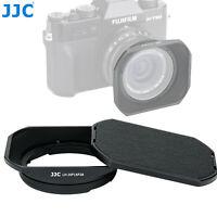 """Square Metal hood +Cap for Fuji Fujifilm FUJINON XF 16mm F2.8 Lens """"US Seller"""""""