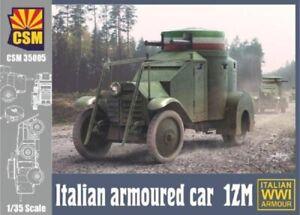 COPPER STATE MODELS WWI ITALIAN ARMOURED CAR LANCIA 1ZM 1:35 CSM35005