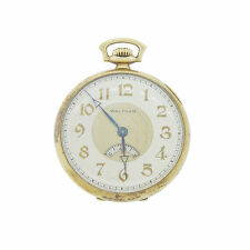 Waltham Colonial Sectometer/Digital Seconds 14k Open Face Pocket Watch