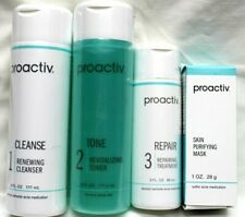 PROACTIV Kit Sealed Cleans, Tone, Repair +Purifying Mask 85g New Free Shipping