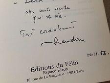 La tradition et le vivant... 1985 . Random Michel / dédicacé - dedicace