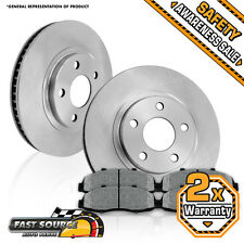 Front Brake Rotors + Metallic Pads JEEP GRAND CHEROKEE WRANGLER COMANCHE TJ XJ
